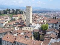 Bergamo Alta : Torre del Gombito e La Rocca