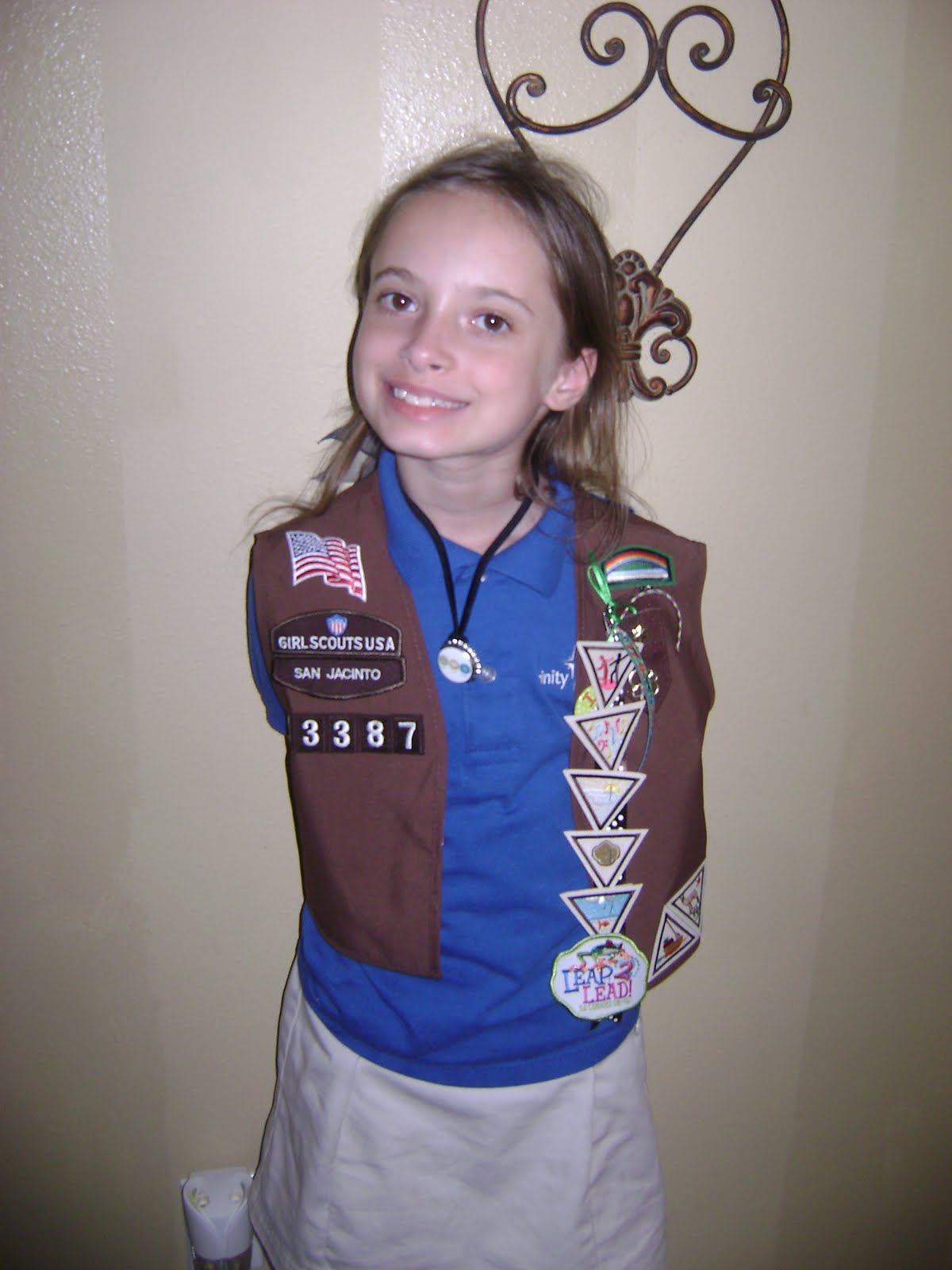 Eddings Party Of Four Brownie Girl Scouts