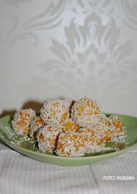Morotsbollar med kanel&kokos