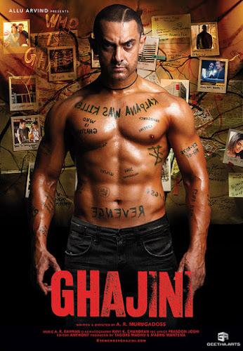Ghajini (2008) Movie Poster