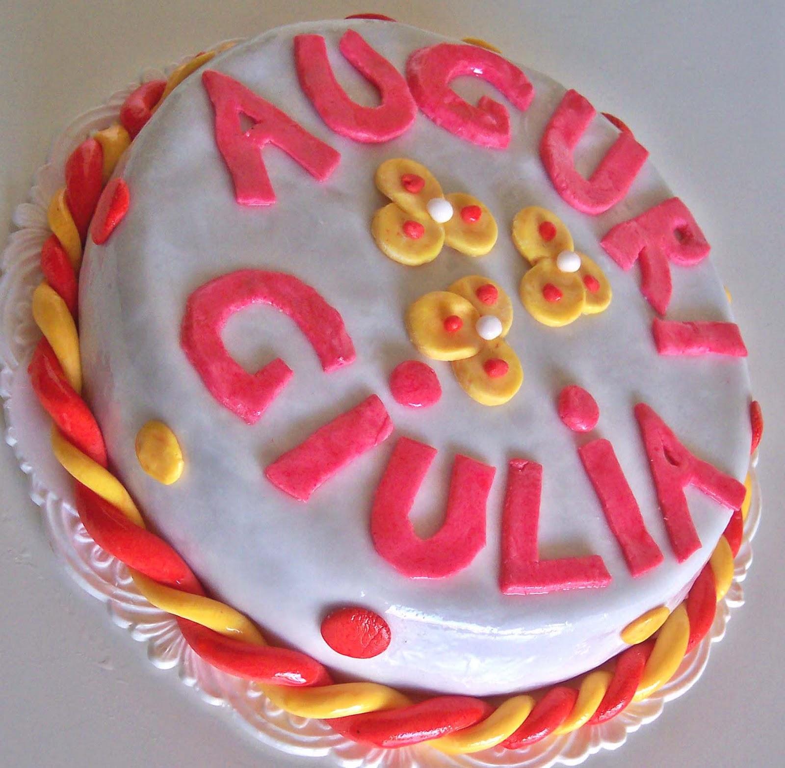 Torta di compleanno decorata   La cassata celiaca