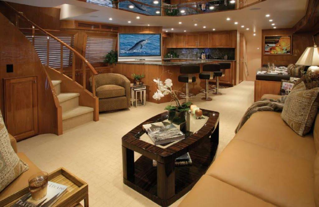 Custom Yacht Interior Design For Luxury