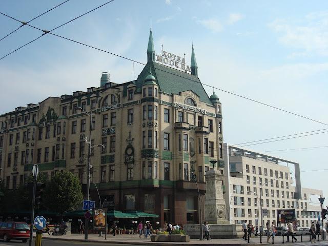 A nova belgrado em tempos de paz viajar pelo mundo for Hotel belgrado