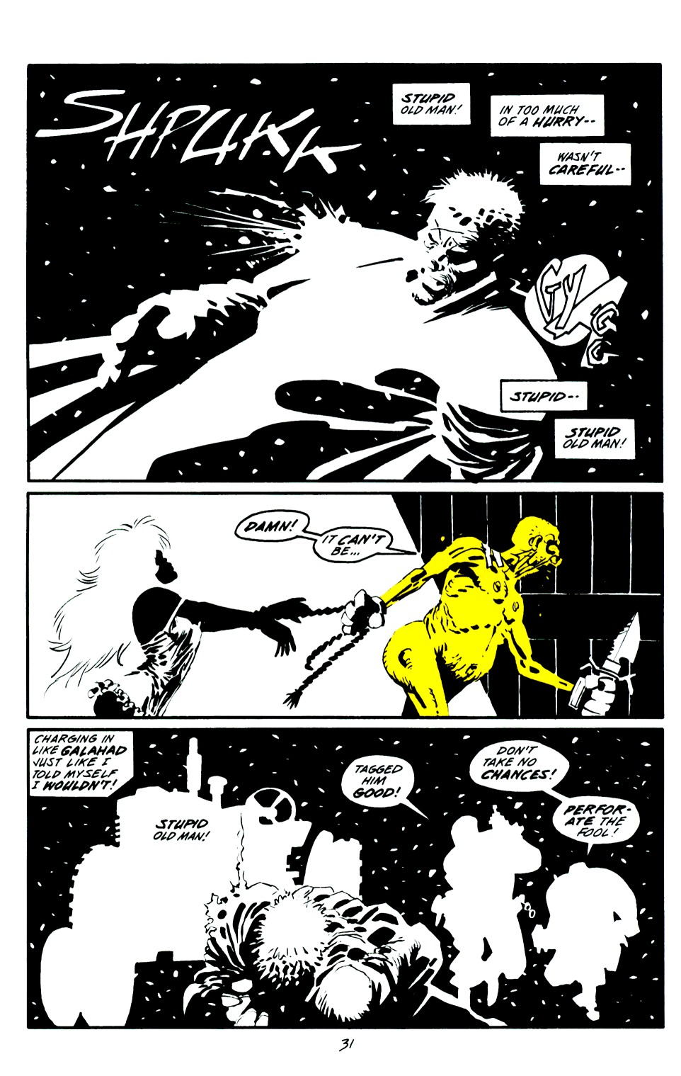 Read online Sin City: That Yellow Bastard comic -  Issue #6 - 31