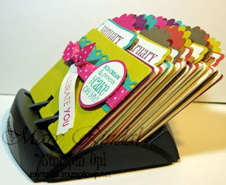 stampin up big shot, rolodex