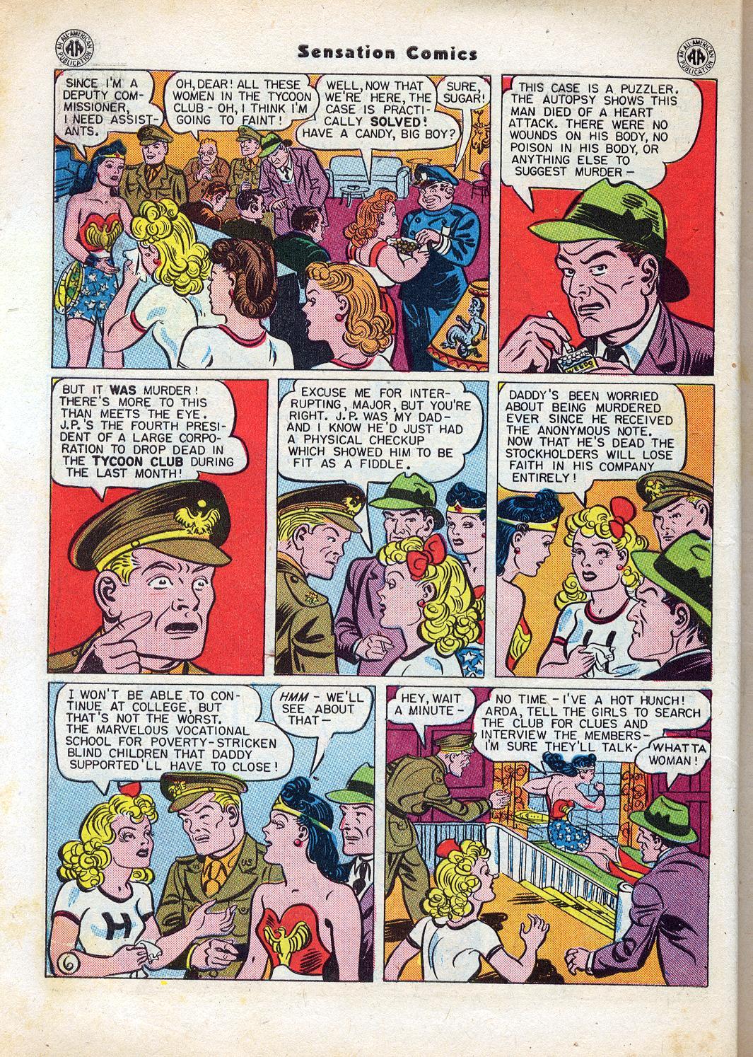 Read online Sensation (Mystery) Comics comic -  Issue #47 - 8