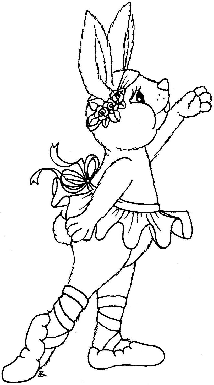 beccy s place ballerina bunny
