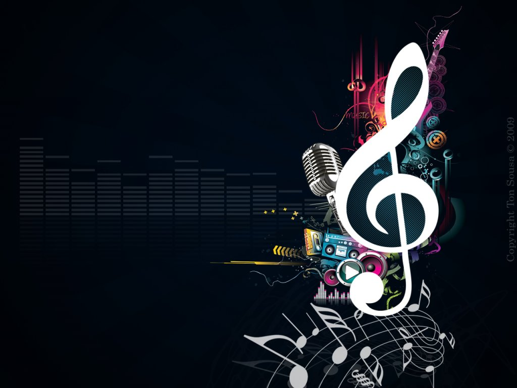 Cool Music Note Wallpapers: Vector Graphics For Your Inspiration: Musical Notes Vector