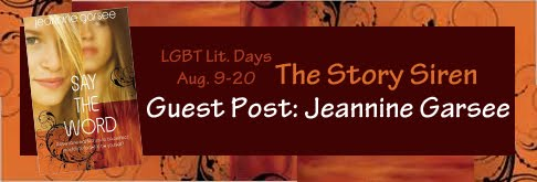 Guest Post: Jeannine Garsee