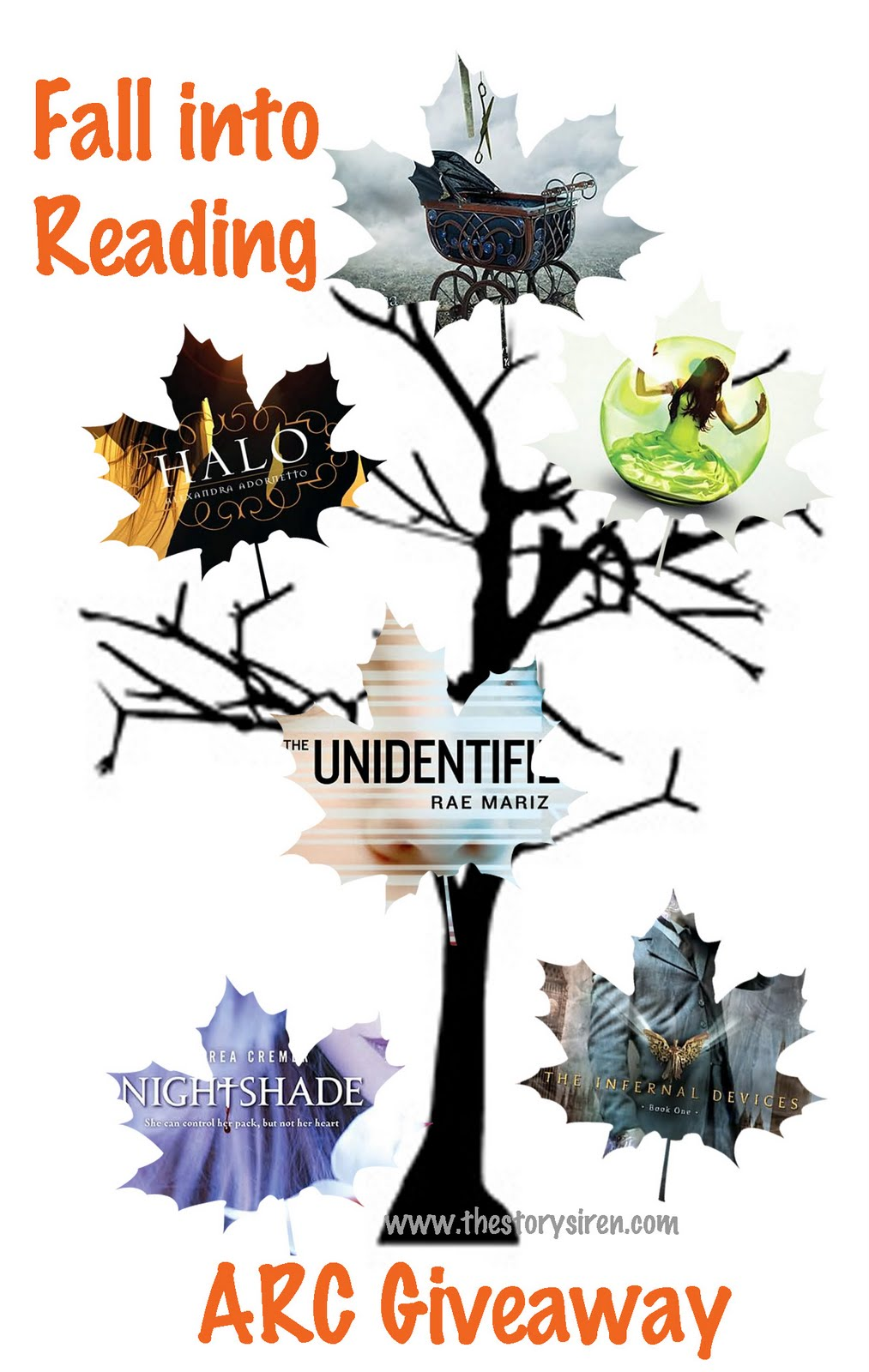 Fall Into Reading ARC Giveaway