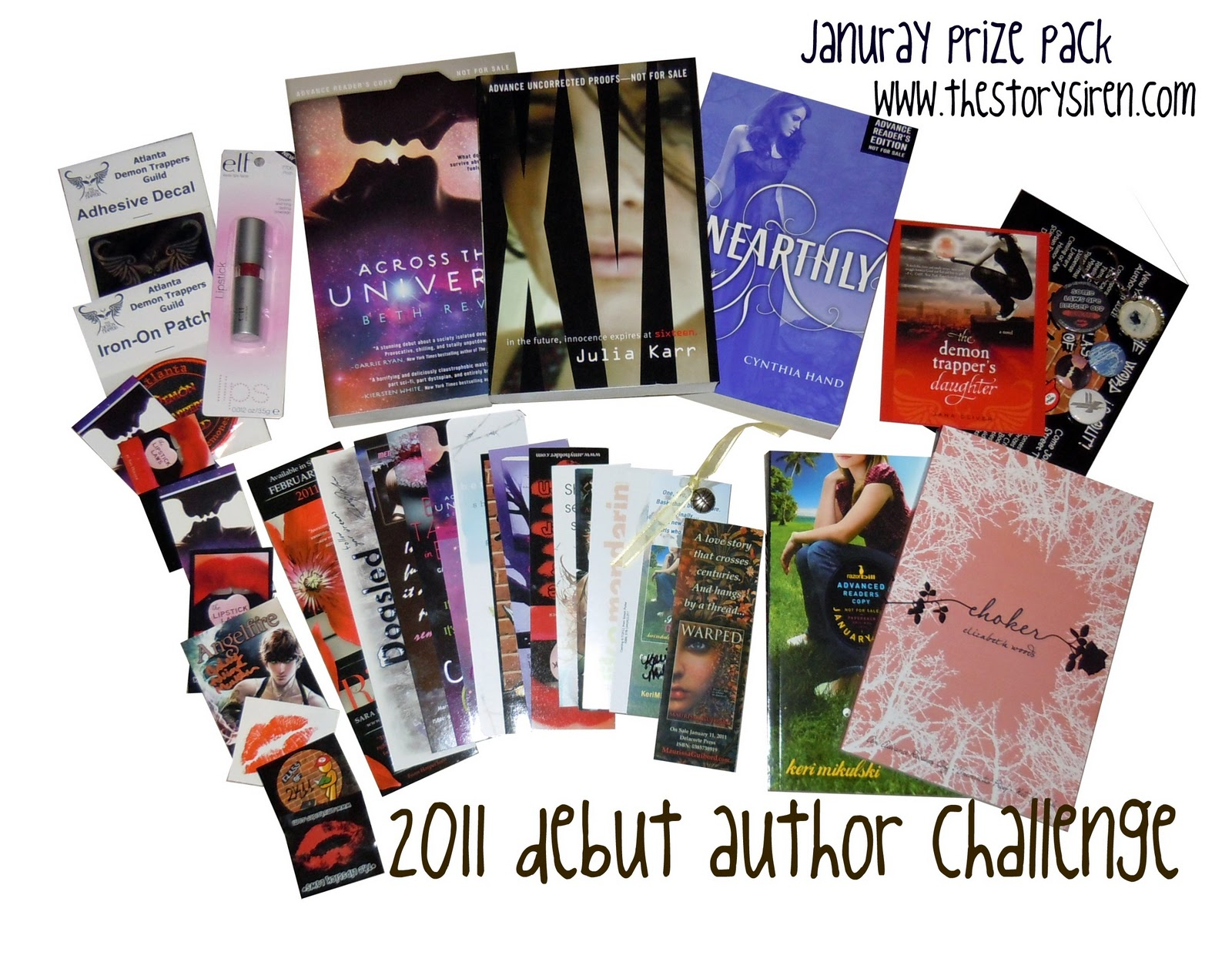 2011 Debute Author Challenge: January