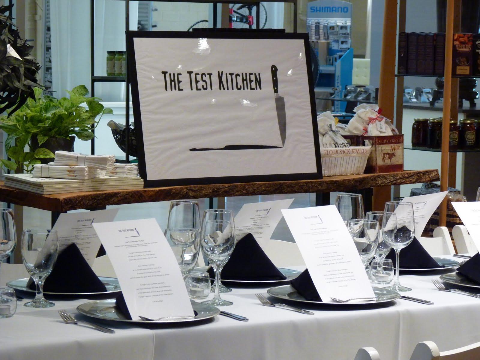 Test Kitchen Supper Club Kansas City
