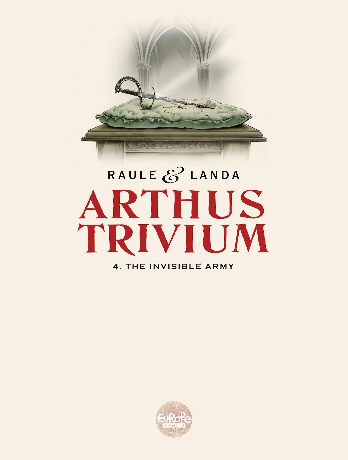 Read online Arthus Trivium comic -  Issue #4 - 3
