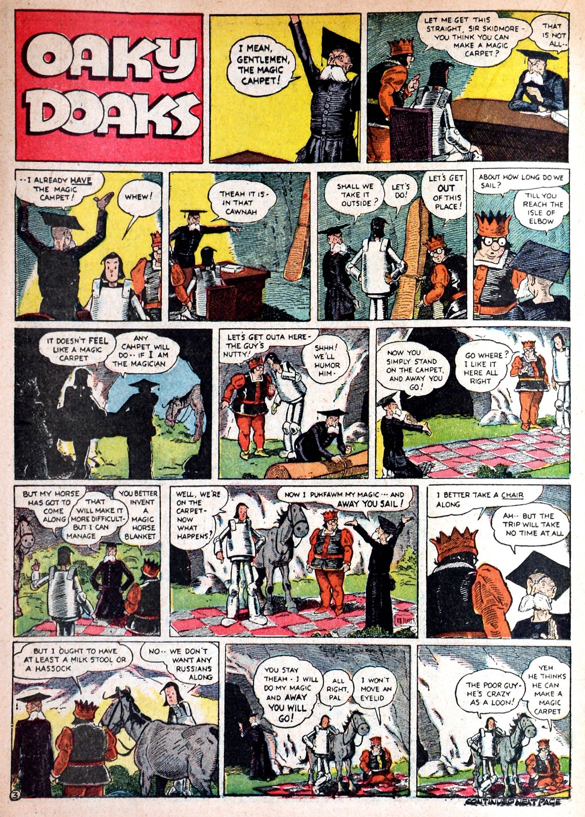 Read online Famous Funnies comic -  Issue #68 - 39