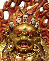 Mahakala Panjaranatha face