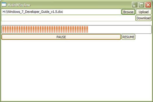 DOT NET TRICKS: Progress Streamed File download and Upload