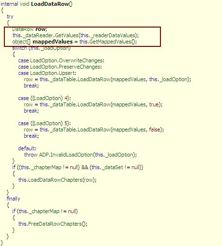 DOT NET TRICKS: ADO NET : Some internals uncovered Part 2