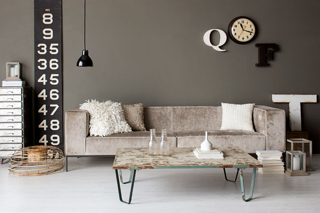Rosa 39 s inspiration industrial style interior design - Vintage industrial interior design ...