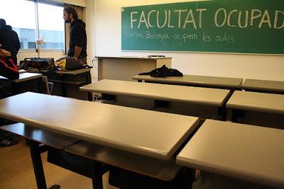 facultad ocupada = ¿aulas vacías?