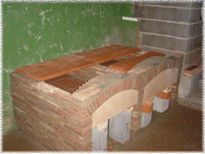 Mis trabajos mejores construcci n de una barbacoa y paellero - Como construir una barbacoa ...