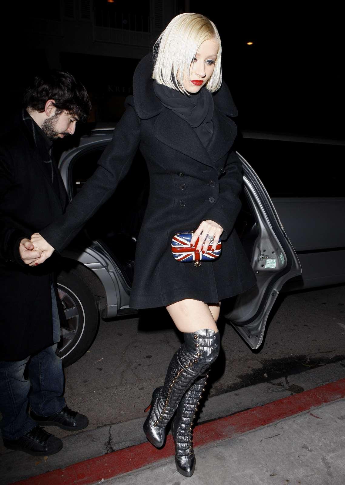 Leather, Latex & PVC: Christina Aguilera