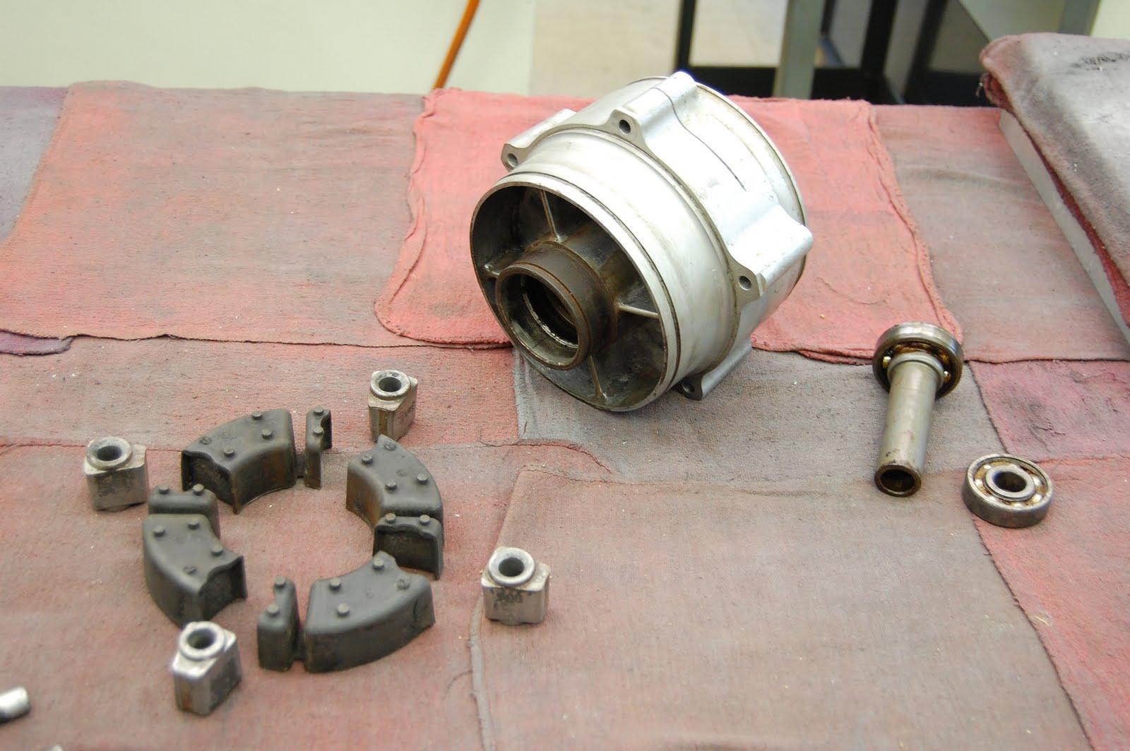 Motor Drive Adapter Complete 1965 Volkswagen Beetle