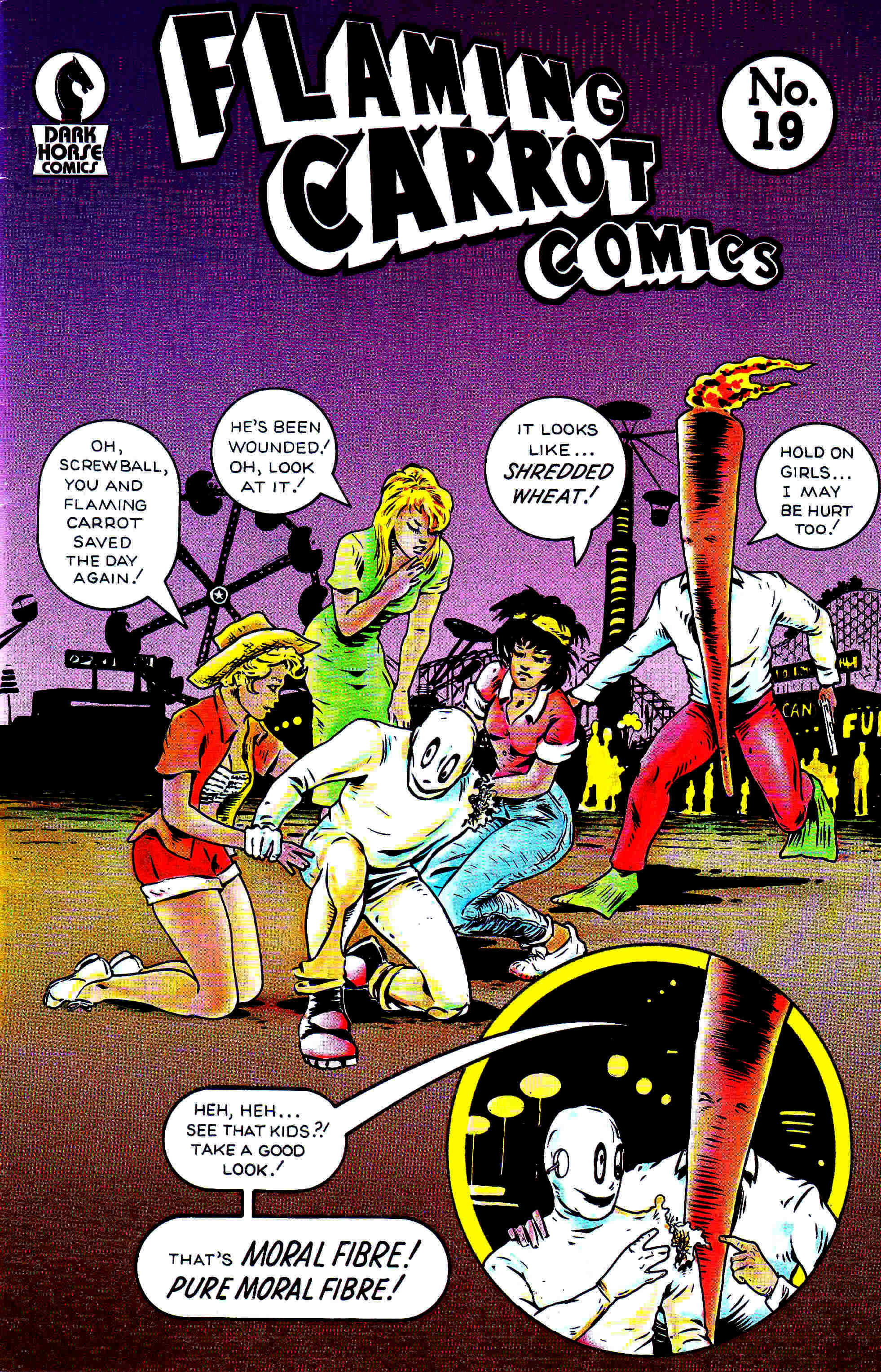 Read online Flaming Carrot Comics (1988) comic -  Issue #19 - 1
