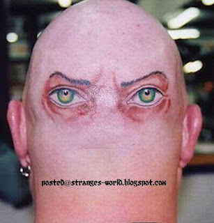 Funniest and Wierdest Tattoos @ STRANGE WORLD