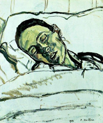 The Dying Valentine Godé-Darel by Ferdinand Hodler, 1915