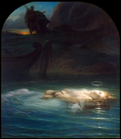 Young Martyr by Paul Delaroche (1853)