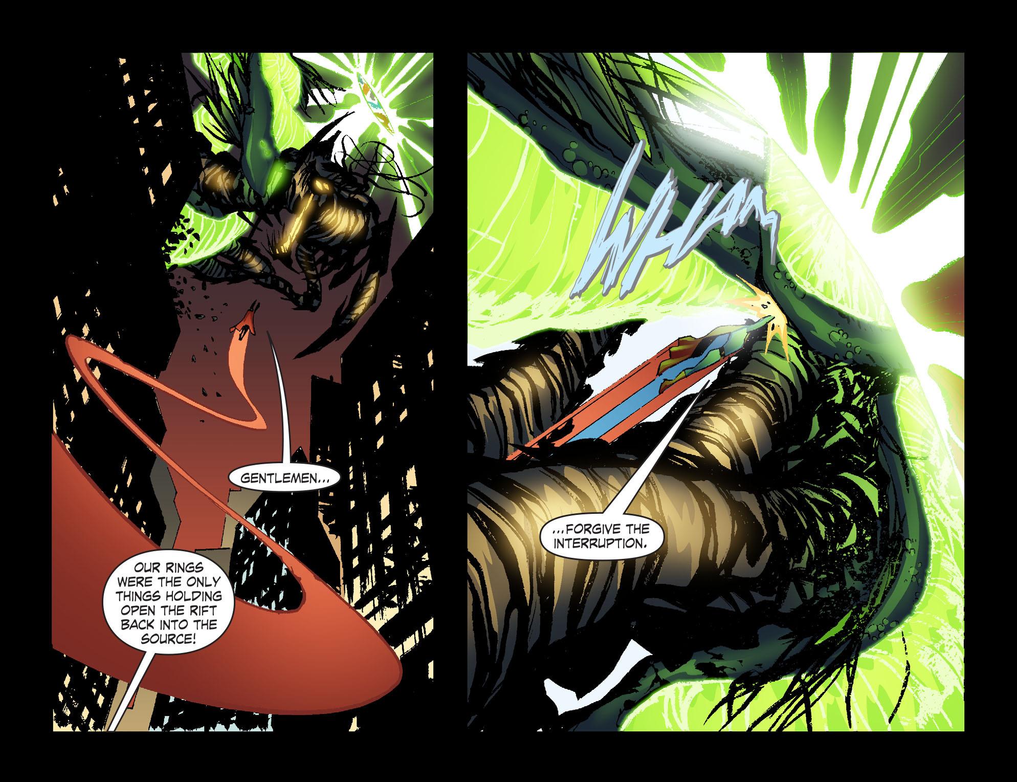Read online Smallville: Lantern [I] comic -  Issue #12 - 11