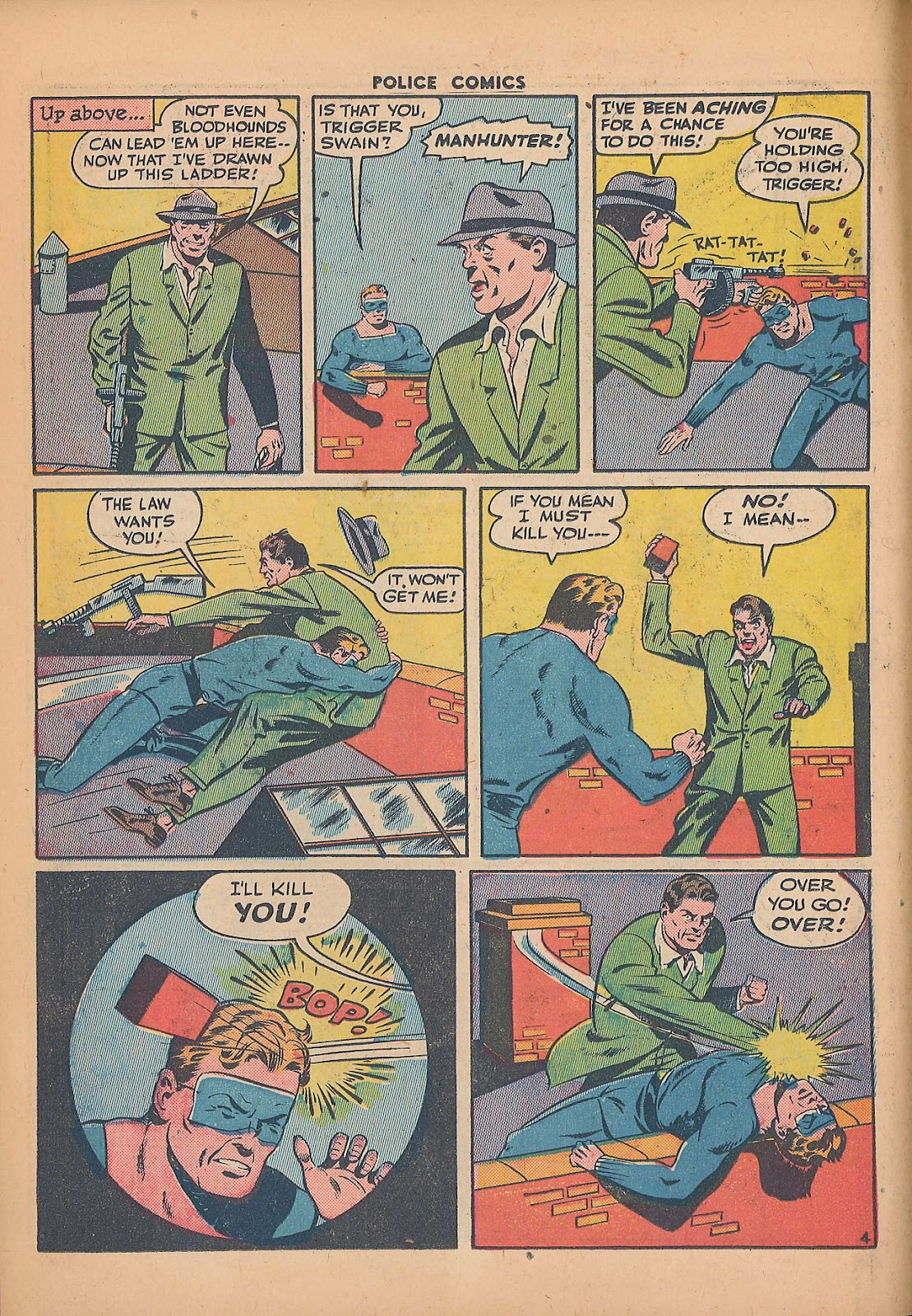Police Comics issue 44 - Page 22