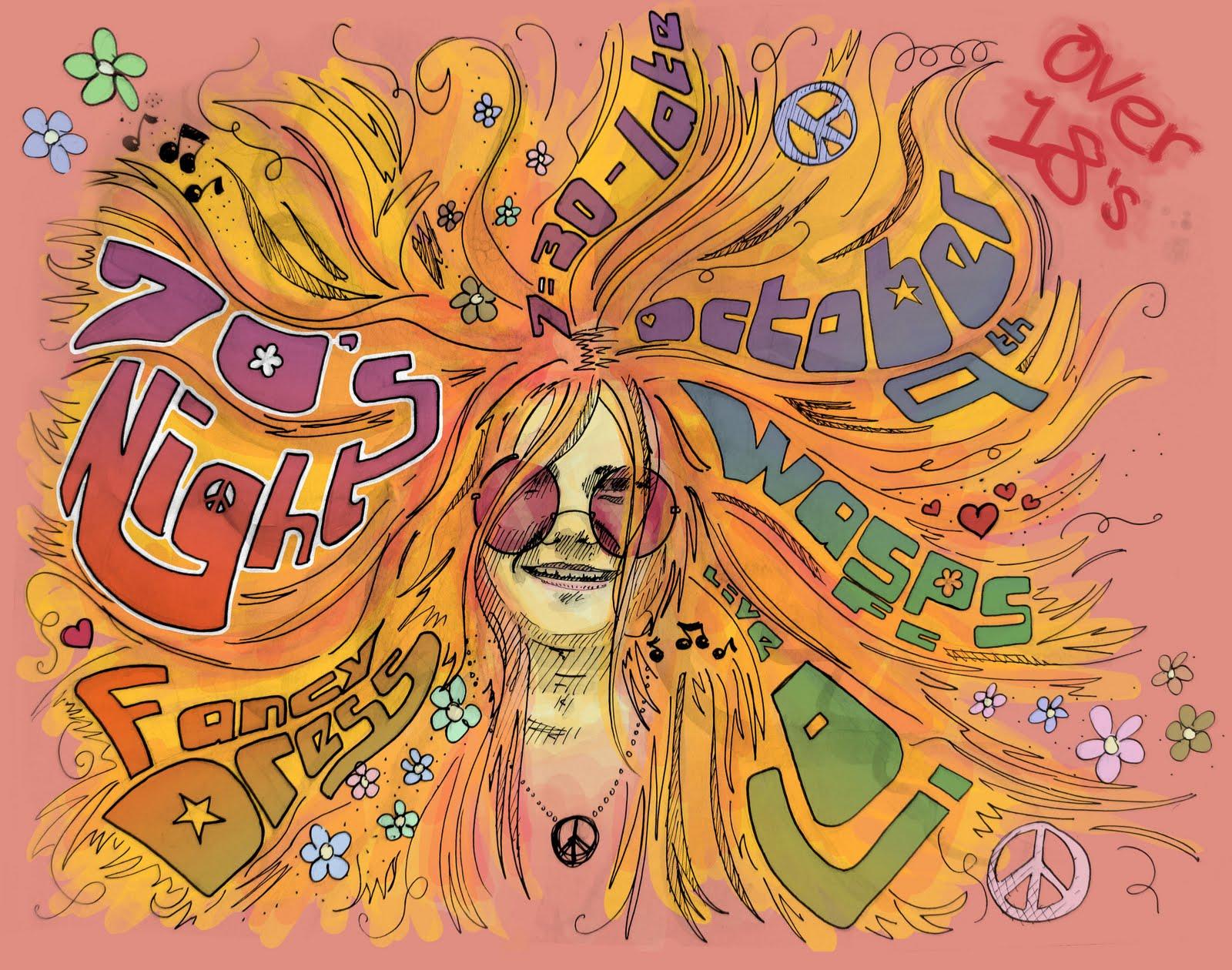 Fantastic Dunk's Illustration: 70's Night , Poster Design. IG29