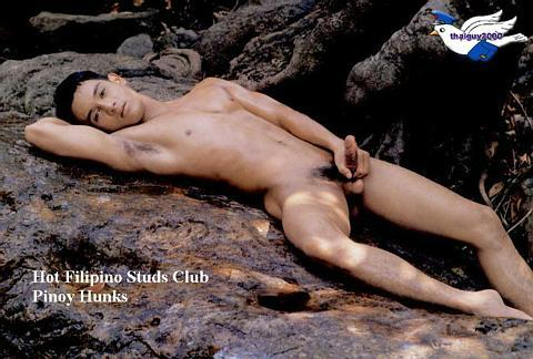 Hairy naked filipino men