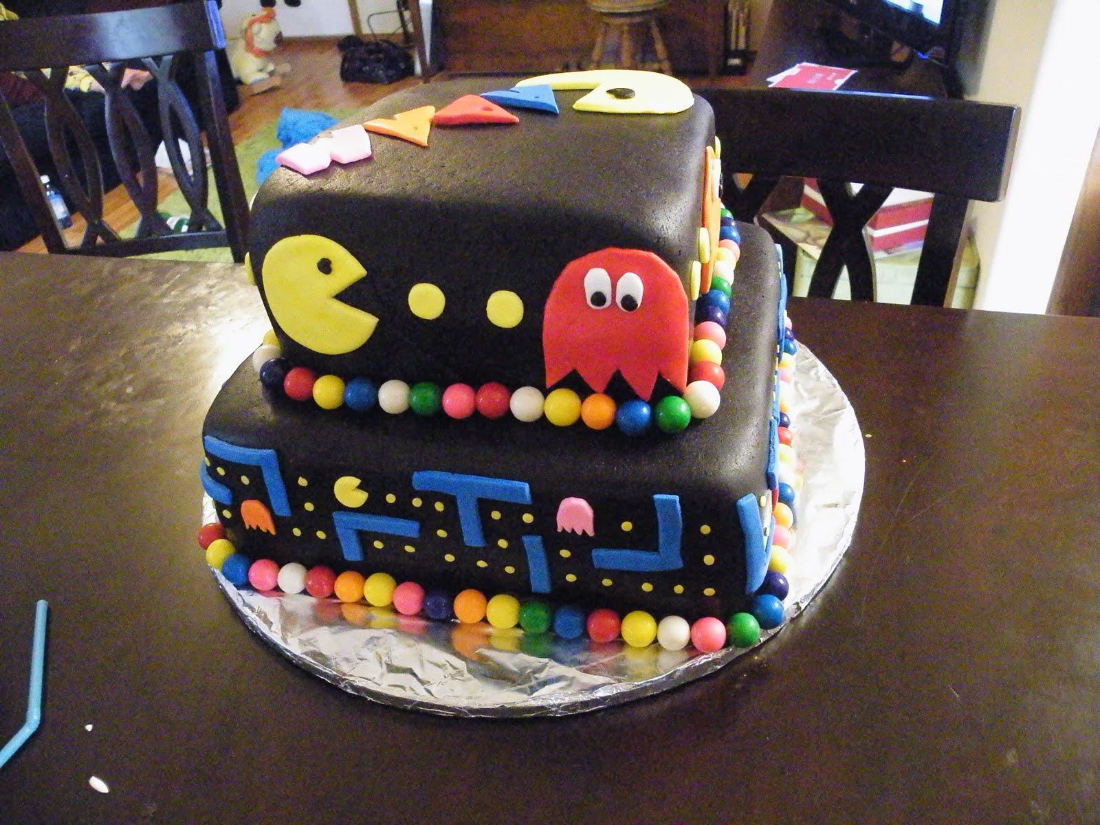 Blissful Chaos Pac Man Cake