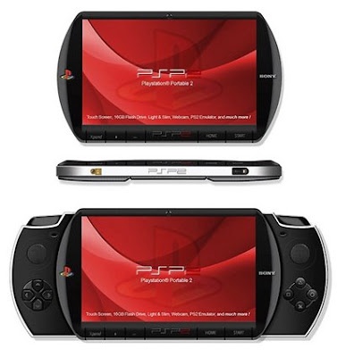 sony-psp-2-concept Sony PSP 2 Concept