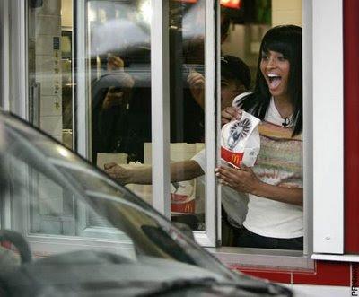 ciara001 Ciara at McDonalds