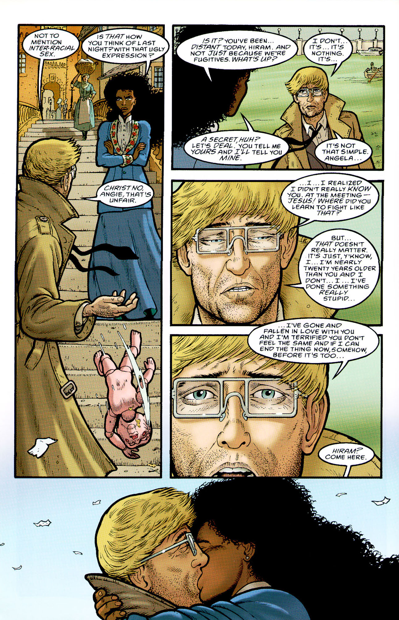 Read online Heart of Empire comic -  Issue #5 - 16