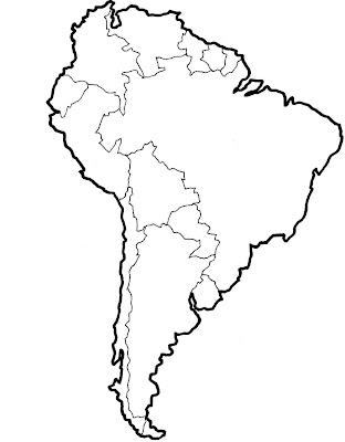 St. Joseph's Social Studies Arena: 6th Grade South America Map