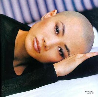 Actress Go Bald Bald Head Woman Britney Shave Her Head