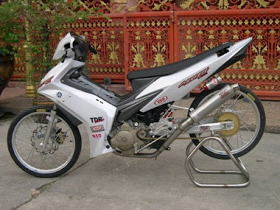 Foto Gambar Modifikasi New Jupiter Z Foto Modifikasi Yamaha Jupiter MX 400x300