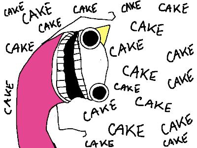 Birthday Cake Meme Sad