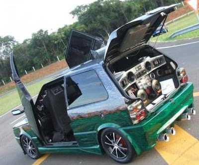 Sport And Car View Fiat Uno Tuning