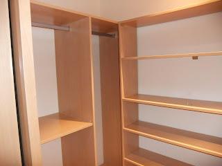 vestidor dormitorio,pequeños espacios. www.lolatorgadecoracion.es