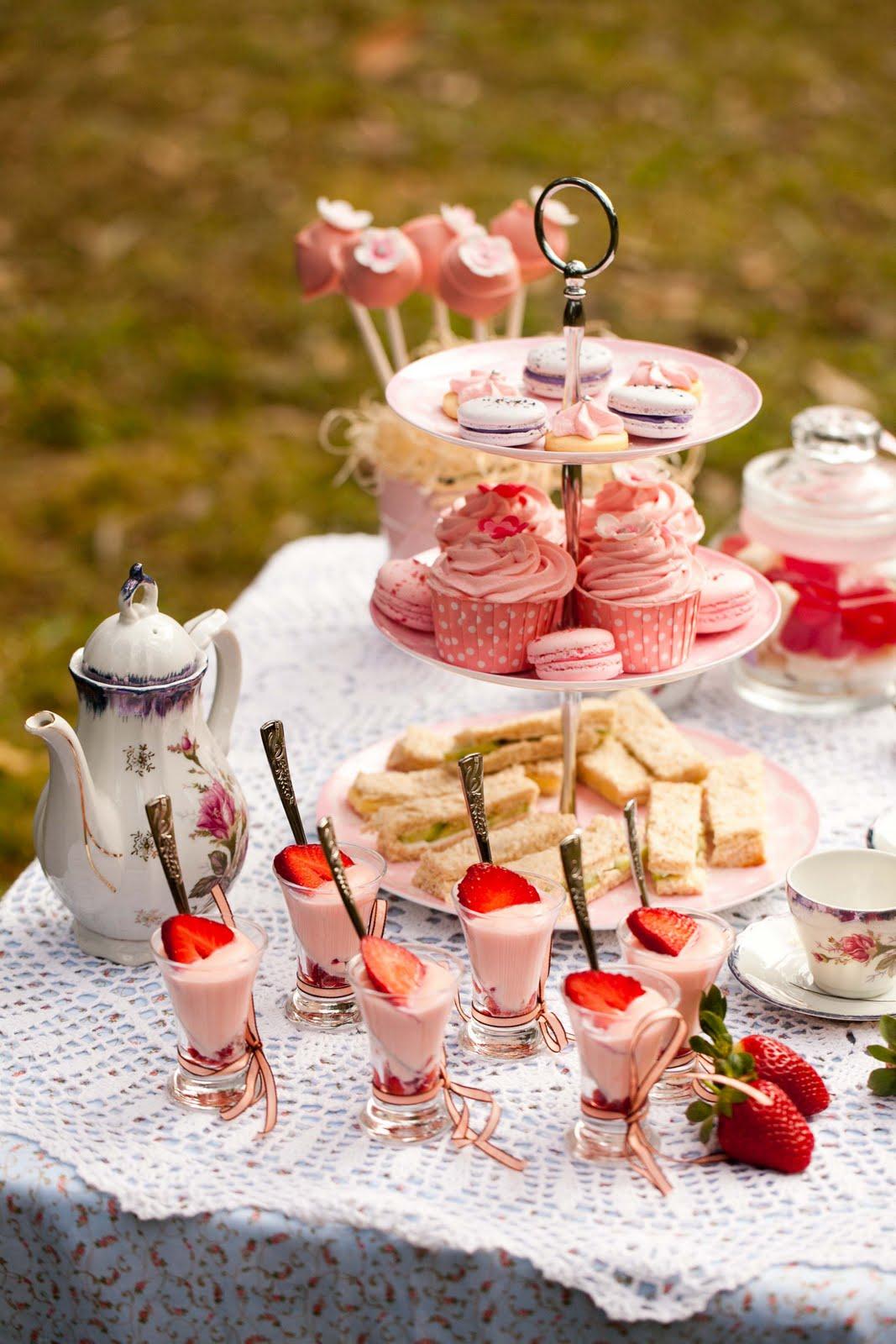 tea party time - photo #1