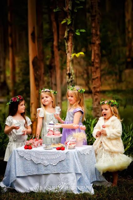 tea party time - photo #8