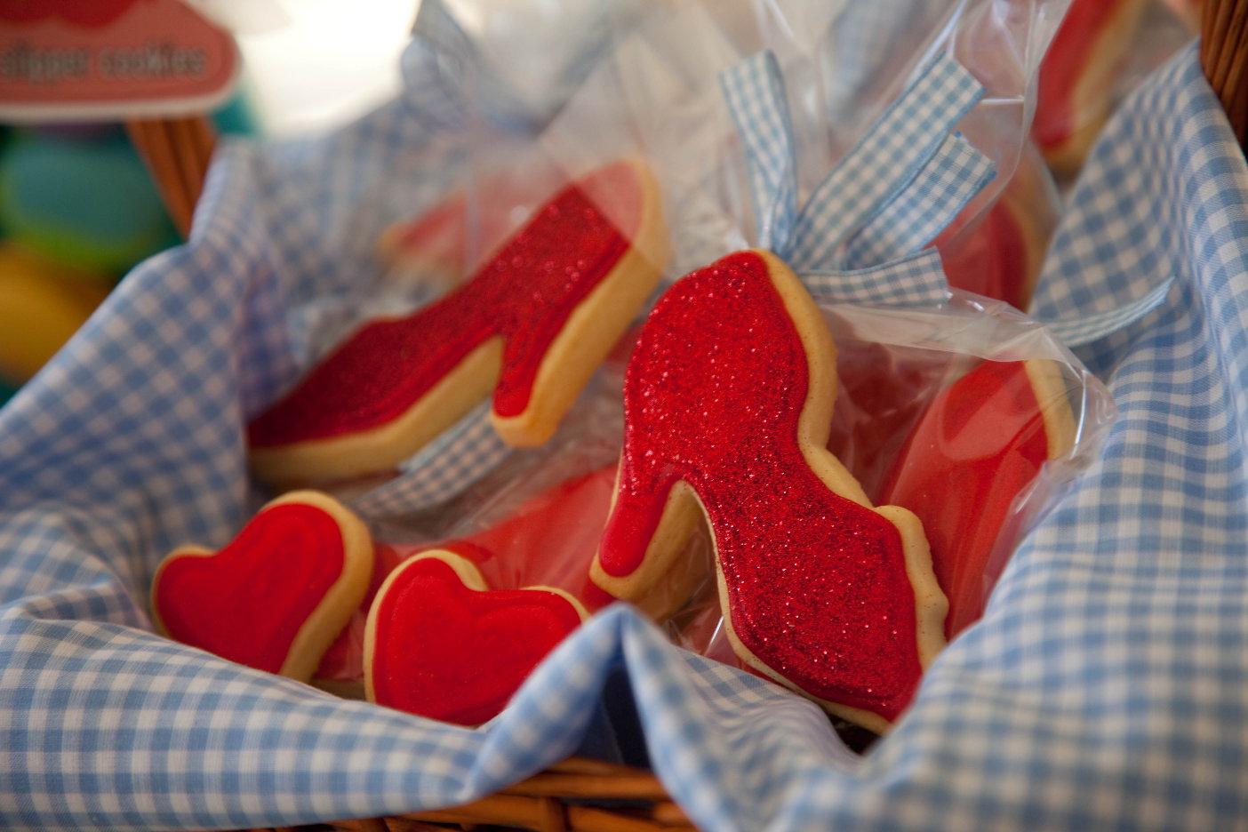Ruby Slippers Birthday Cake