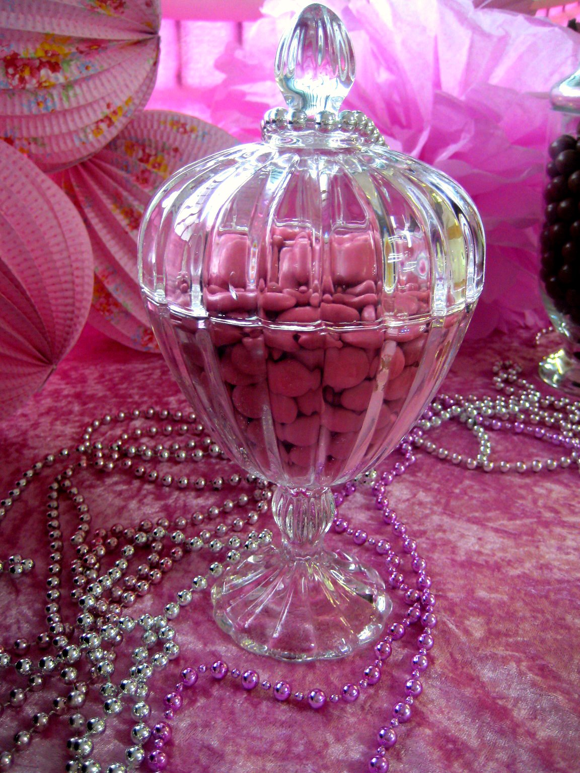 Bubble And Sweet Pink Glamour Girl Birthday Party - Real -8288