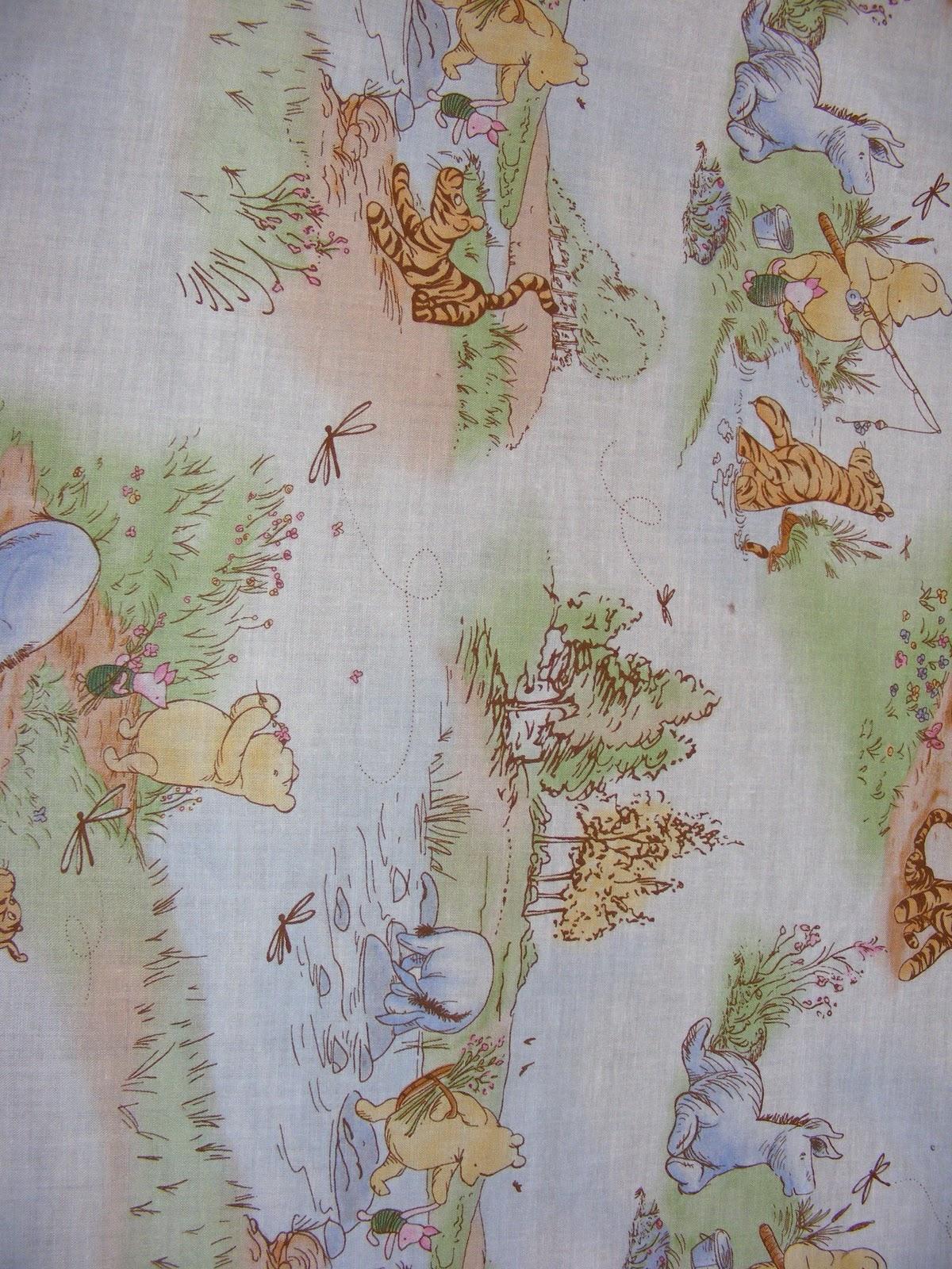 Sew Sweet Seams Winnie Pooh Baby Blanket