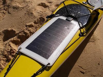 Sea Kayaking Solar Powered Battery Charger For Bilge Pump